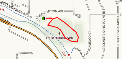 Four Mile House Park Trail Map