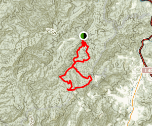 Caldwell Fork Loop Map