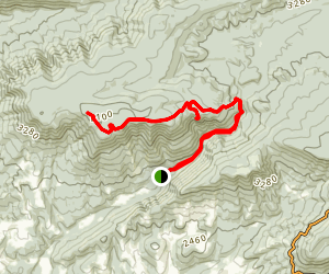 Cascades National Recreation Trail to Barney's Wall Map