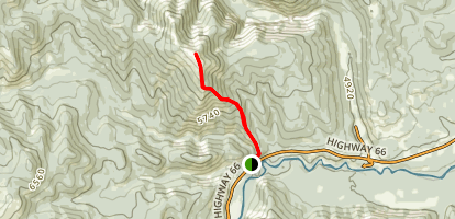 Prairie Mountain Trail Map