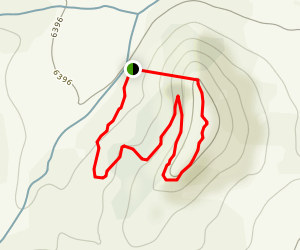 Challenge Hill Blue Loop Trail Map
