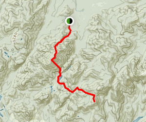Mount Skylight Trail Map