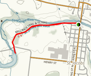 Mill Race Trail & TCTrail Map