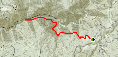 Stevens Trail East Map
