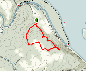 Susquehanna Ridge Short Loop Trail Map