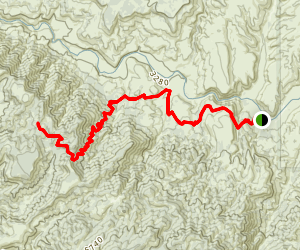 Bull Spring Trail Map