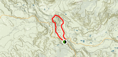Garnet Hill Loop Trail Map