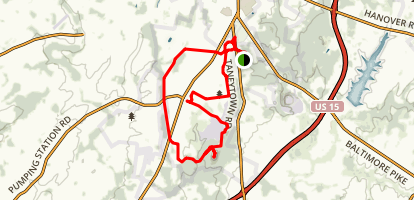 The Billy Yank Trail Map