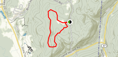 Cranberry Mountain Trail Map
