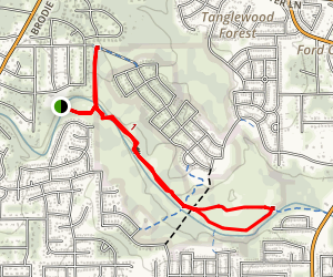 Slaughter Creek Trail Map