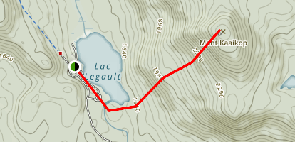 Mont Kaaikop Trail Map