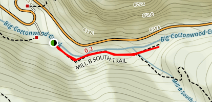 Mill B South Trail Map