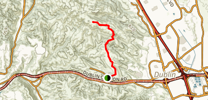 Calaveras Ridge Regional Trail Map