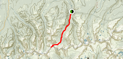 East Fork Blacks Fork Trail Map