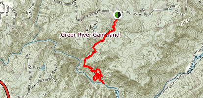Pulliam Creek Trail Map