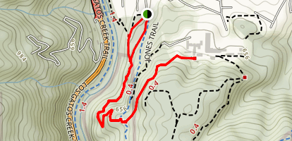 Flume Trail Map