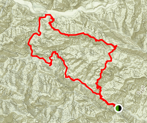 Manzana Trail Map