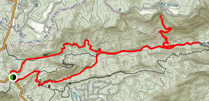 Jones Gap and Falls Trail Map