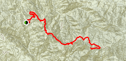 McKinley Mountain Map