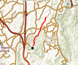 Lower Trabuco Creek Trail Map