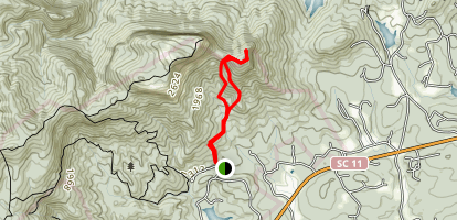 Stool Mountain Trail Map