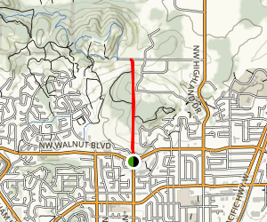 Kings Power Line Trail Map