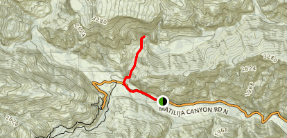 Matilija Camp Trail Map