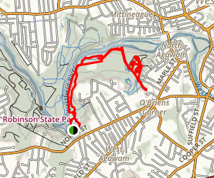 Westfield River Trail Map