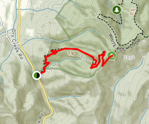 Lone Oak to Tip Top Trail Map