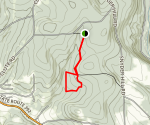 Woodchuck Hollow Loop Trail Map