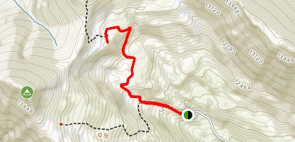 The Hilltop Mine Trail Map