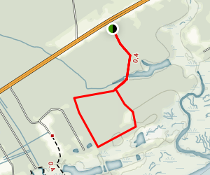 South Tibwin Loop Trail Map