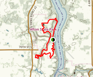 Afton Park Trail Map