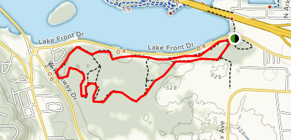Bona Dea Trail Map