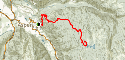 Smuggler Mountain Trail Map