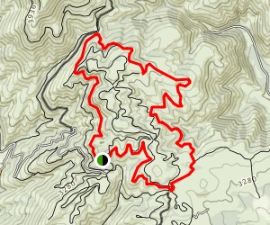 Echo Valley Outer Loop Trail Map