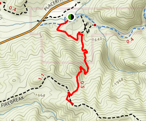Manzanita Mountain Trail Map