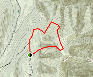 East Mountain Trail Map
