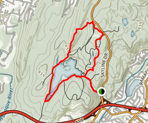 Ramapo Park and Cannonball Trail Map
