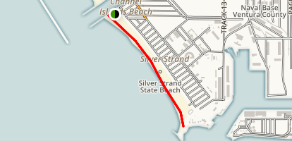 Silver Strand Beach to La Janella Park Trail Map
