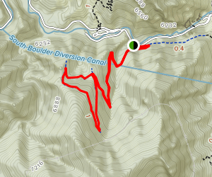 Rattlesnake Gulch Trail Map