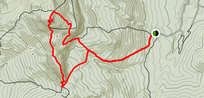 Monroe and Dean Loop Trail Map