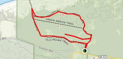 Old Indian Trails Map