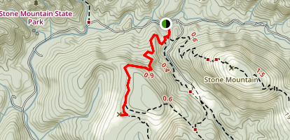 Wolf Rock Trail Map