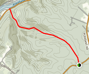 Slater Run Trail Map