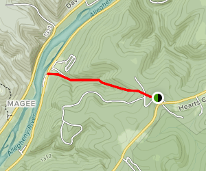 Magee Trail Map