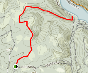 Dunkle Trail Map