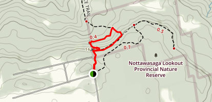 Singhampton Caves Trail Map