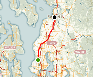 Interurban Trail Map