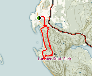 Interurban Trail and Fragrance Lake Map